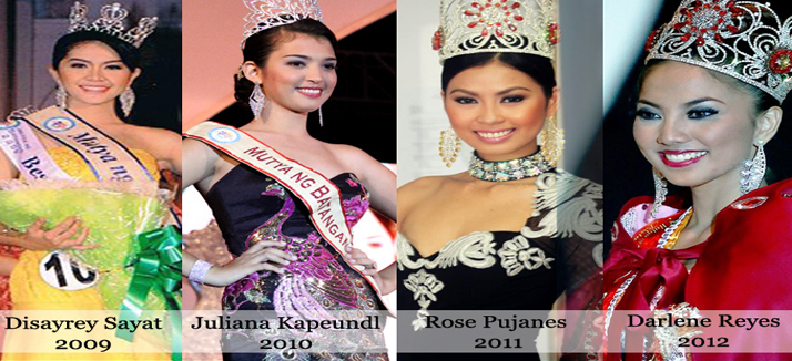 Prelude to Mutya ng Batangas 2013: Looking Back at the Past Mutyas