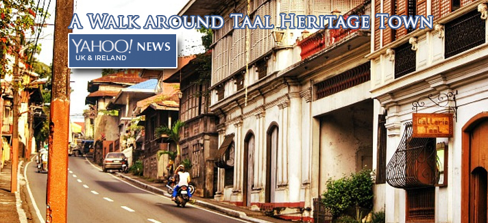 A Walk around Taal Heritage Town